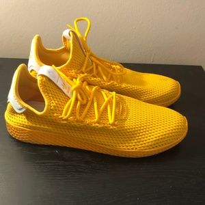 adidas Shoes - PHARRELL X TENNIS HU 'SOLID GOLD
